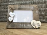 Shabby personalised Chic Photo Frame Auntie Aunty Great Aunt Gift  Present - 332540477055